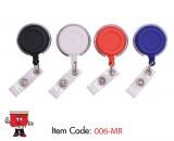 chrome line, badge reel, id accessory