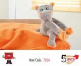 teddy, plush, toy, kids, blanket, hippo