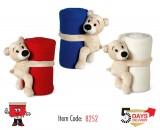teddy, plush, toy, kids, blanket