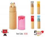 Pencil, sharpner, color