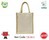 2 Tone Cotton Bag - Small