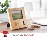 bamboo photo frame stand gifts