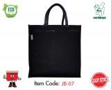 Jute Bag - Black