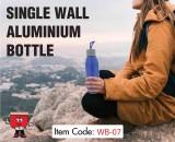 water bottle, drinkware, aluminium bottle