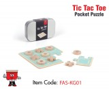 TIC TAC TOE POCKET PUZZLE