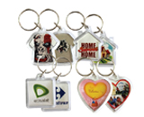 paper insert key chains