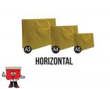 horizontal paper bags, paper bags