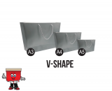 V shape Paper Bags, paper bags
