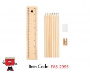 slider wooden pencil color coloring set eco friendly