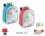 backpack, diy, color, sketch