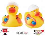 floating duck, yellow duck
