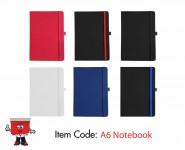 a6 size pu notebook notebooks