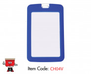 Silicon ID Card Holder-Vertical ID Card Holder