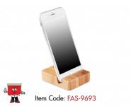smartphone bamboo stand