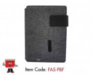 powerbank portfolio notebook 4000mAh, mah. usb