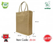 JB-04, Vertical Jute Bag