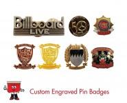 custom engraved badges