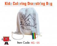 kids coloring drawstring bag, children drawstring bags,promotional children drawstring bags