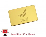 rectangle lapel pins