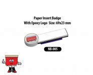 Epoxy Reusable Name Badge