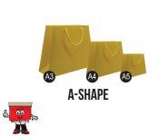 A-Shape, paper bags