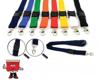 buckle lanyards