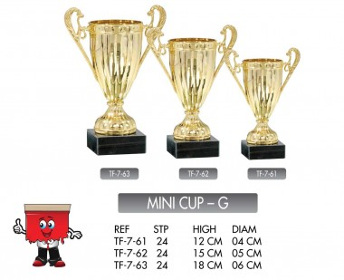 mini cup small trophy