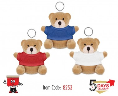 teddy, plush, toy, kids, key chain