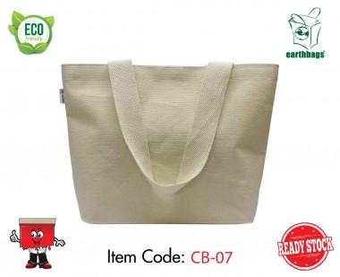 Canvas Bag, Laminated, Tote, Beach Bag