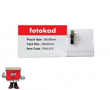 Card Holder with pin