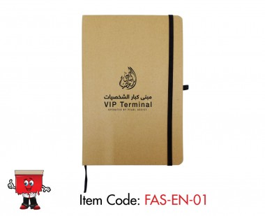 a5 size eco notebook