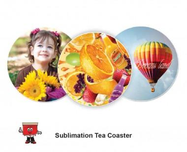 Sublimation Type Tea Coaster