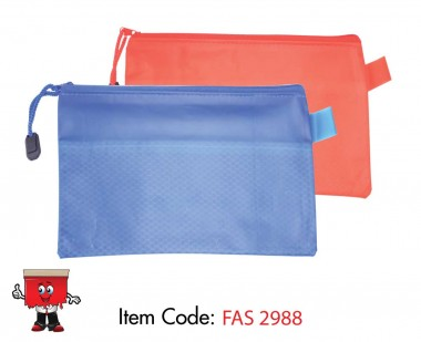 zipper pouch a4