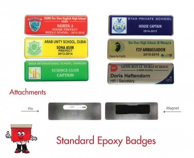 epoxy name badges