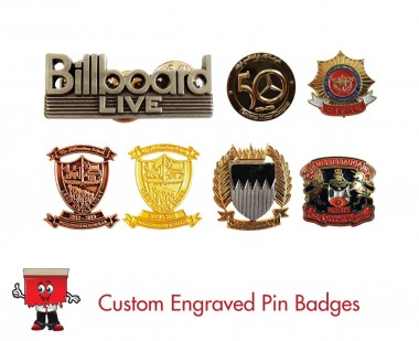 custom engraved badges