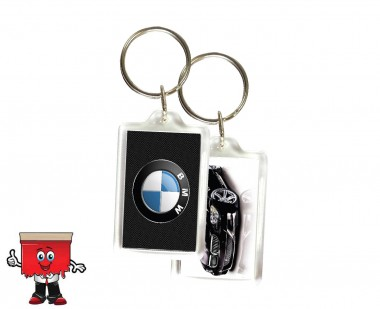 Transparent Acrylic Key ring
