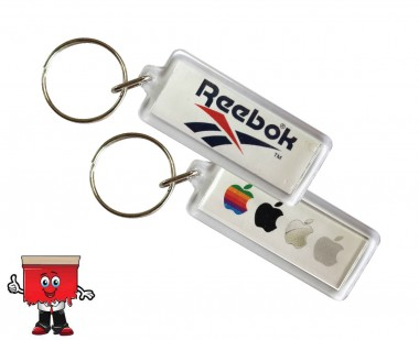 Rectangle key ring