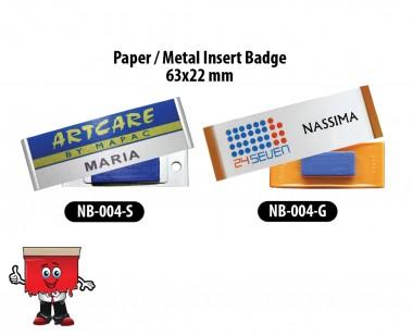 Reusable Name Badges