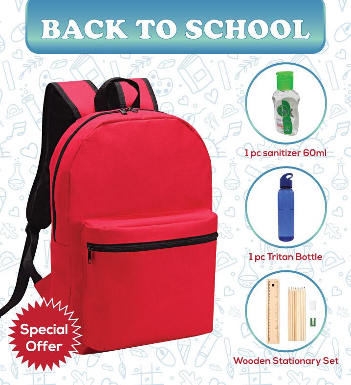 back to school, backpack, bottle,